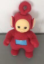 """Vintage Teletubbies Po 12"""" Red Stuffed Plush Doll Toy 1998 Playskool Teletubby"""