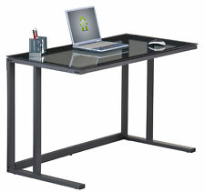 Alphason Air Computer Workstation With Black Glass