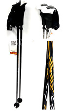 "Leki Cloud 14T Womens Alpine Ski Poles 105 cm 42"" NWT Black"