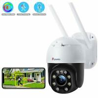 Full HD Outdoor Security Camera with Color Night Vision, Digital Zoom, Home CCTV