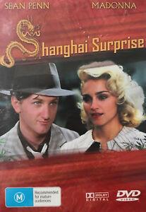Shanghai Surprise DVD - Madonna (1986) Sean Penn - ALL REGION