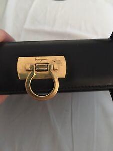 Authentic Vintage Salvatore Ferragamo Leather Handbag