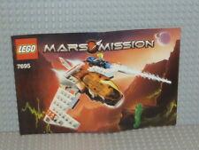 LEGO® Mars Mission Bauanleitung 7695 MX-11 Astro Fighter ungelocht B2612