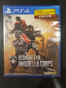 PS4 Resident Evil: Umbrella Corps (English Version) Brand New