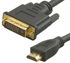 HDMI to DVI - D Cable Plug 15 M HDTV HD Gold Plated