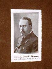 F.Cucchi Boasso nel 1908 Ministro d'Italia a Sofia nel 1908
