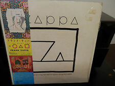 Frank Zappa-Ship Arriving Too Late Japan Import LP w/Obi w/Oversized Insert +1