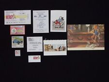 LOT HERGE ESTEVE FORT TINTIN Bar Cartes Hommage (344)