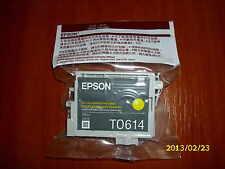 Original Epson T0614 yellow color ink cartridge tintenpatrone