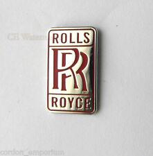 ROLLS ROYCE RED AUTOMOBILE CAR LOGO LAPEL PIN BADGE 3/4 INCH