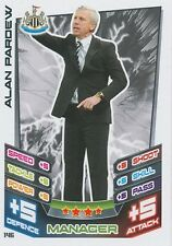 N°146 ALAN PARDEW NEWCASTLE UNITED TRADING CARD MATCH ATTAX TOPPS 2013