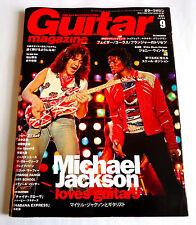 MICHAEL JACKSON Guitar Magazine Japan 09/2009 JOHNNY WINTER JO BONAMASSA GAZETTE