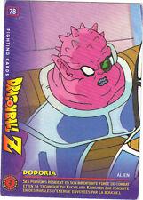 DRAGON BALL Z - Fighting cards n° 78 - DODORIA