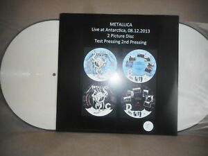 "METALLICA ""live Antarctica 2013"" 2lp TEST PRESSING picture discs 25 copies !!! s"