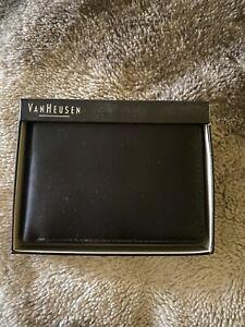 Van Heusin Leather Wallet