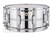 LUDWIG 6.5 x 14 Supraphonic LB402B Chrome Over Brass Snare Drum - NEW