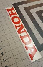 "Honda Red Decal~Honda Logo Sticker~Honda ATV, DIRT BIKE, ATC~1""x6"""