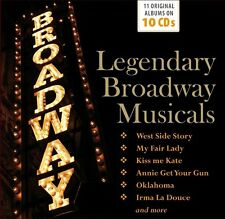 Various - Legendary Broadway Musicals (2016)  10CD Box Set  NEW  SPEEDYPOST