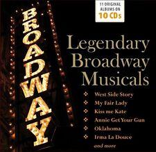 Various - Legendary Broadway Musicals (2016)  10CD Box Set  NEW  SPEEDYPOST