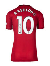 More details for 2019-20 manchester united shirt signed by marcus rashford 100% authentic + coa