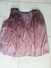 lotto 526 camicia camice blusa canotta donna bicolore ZARA tg.L