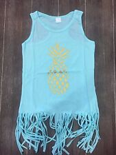 New 12-24 Month Girl Pineapple Swim Suit Cover Up