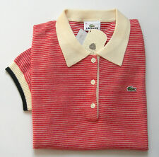 """Superbe Polo femme, Neuf, manches courtes """"Lacoste-Devanlay"""" - Taille 42"""