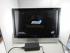 MSI MS-AE31 All-in-One PC 24″ Multi Touch Core i7 860s 2.53GHz CPU 4GB 1TB HDD