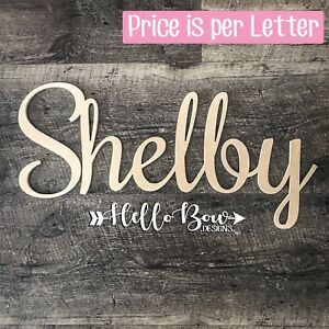 MDF LETTERS 15cm HIGH CUSTOM WORDS NAMES PERSONALISED price is per letter