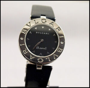 BVLGARI B ZERO 1 BLACK DIAL LADIES WATCH BZ 30S