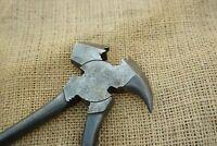 DIAMOND 10-1/4'' Heavy Duty Fence Pliers,Barbed Wire Pliers Diamond Pattern Grip