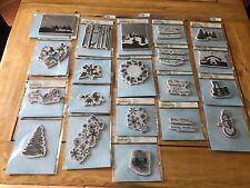 spellbinders 3D set of christmas stamps