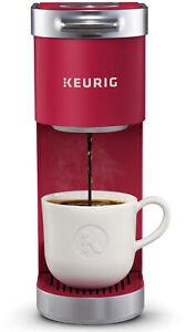 NEW Keurig K-Mini Plus, Single Serve K-Cup Pod Coffee Maker, Cardinal Red