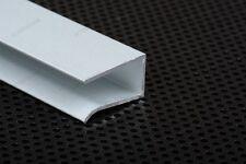 1221 PERFIL ALUMINIO PARA EXPOSITORES VIDRIO 8mm 1M para TIRAS TIRA DE LED 1MT