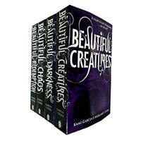 Beautiful Creatures Collection 4 Books Set (Beautiful Darkness (Book 2) NEW Pack