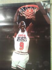 VINTAGE 1992 MICHAEL JORDAN BE LIKE MIKE USA BASKETBALL GATORADE POSTER RETRO