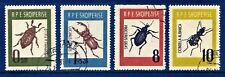 Albania 1963 Insects / Insecta / 4v / SG742-745 Fine Used (With Full Gum)