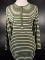 NEW! Beautiful Women's XL Ralph Lauren Chaps Multi-Color Striped LS Knit Top NWT