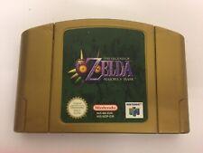 The Legend of Zelda Majora's Mask N64 game Gold cart UK Pal Free P&P