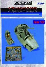 Aires 2050 - 1 :3 2 A-7E Cabina Set Temprano Versión Para Trumpeter Kit - Nuevo