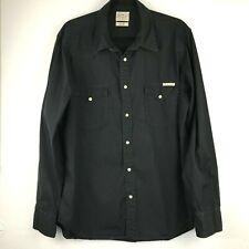 Lucky Brand Men's Distinctive Western Long Sleeve Button Up Shirt Size L