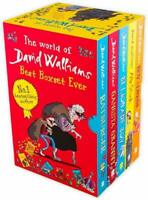Mr Stink Ratburger The World of David Walliams 5 Books Collection Mega Box Set
