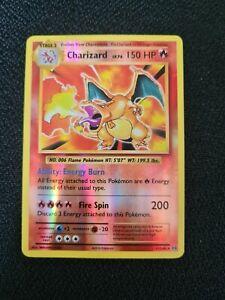 Charizard 11/108 Pokémon Card - XY Evolutions - Reverse Holo Rare