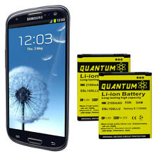 2X QUANTUM OEM Replacement Batteries for Samsung Galaxy S3 (12 Month Warranty)