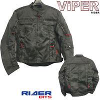 VIPER-SPEEDSTER-59 TEXTILE-RETRO-JACKET-CASUAL-MOTORCYCLE-JACKET CE ARMOR BIKER