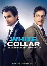 NEW White Collar: The Complete Fourth Season DVD 2013, 4-Disc Set FREE SHIPPING!