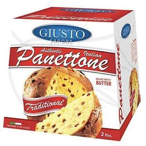 Giusto Sapore Italian Panettone Original Gourmet Bread 2Lb. - Traditional