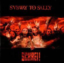 SUBWAY TO SALLY - SCHREI ! CD (2000) LIVE 1999 / MITTELALTER-ROCK