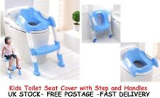 Toilet Seat Covers For Kids Toddler Junior Baby Childrens Seats With handles UK