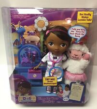 Doc Mcstuffins Time For Your Checkup Sing Along Doll And Lambie NIB Hard to find